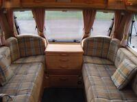 2005 Abbey Safari 520, 4 Berth Caravan with full Awning.