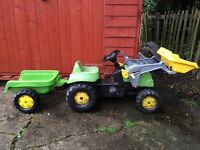 Kids tractor trailer for sale