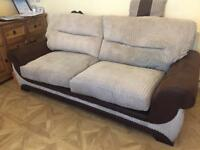 2 x 3 Seater Sofa only 1 year old