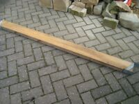 JOISTS X 5. 6 FT LONG X 5 IN X 2 IN FOR SHED OR FENCE POSTS