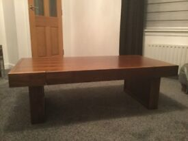 Mango wood TV unit, Coffee table and side table
