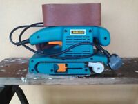 Max Pro Belt Sander in very good condition hardly used still in box