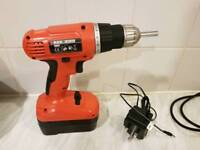 Black and Decker cordless drill driver