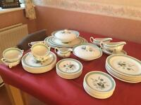 Clovelly Wood and Sons dinner service