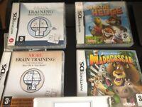 Nintendo DS White + 4 games