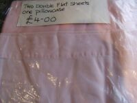 Flat sheets to fit a double bed