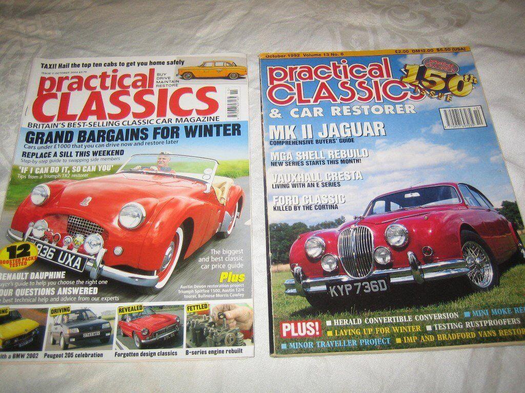 Classic car magazines   in Bingley, West Yorkshire   Gumtree