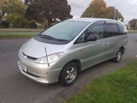 2002 Toyota Hybrid Estima Imported 8 Seater Automatic Luxury Alphard 4WD Auto Previa Import Japan