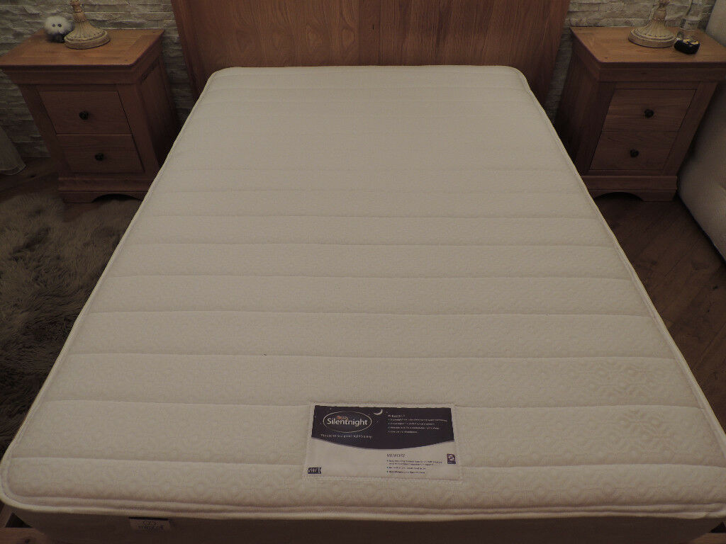 SilentNight Mattress Double size (Delivery)