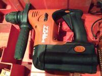 Hilti 36v cordless sds hammer drill