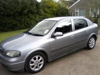 VAUXHALL ASTRA 1-4 ENJOY 16v 5-DOOR 2005. 101k MILES, SERVICE HISTORY 1 OWNER FROM NEW 12 MONTHS MOT