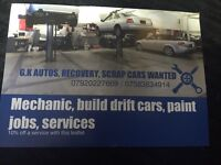 MECHANIC very realible friendly, very competitive rates. Cover all over Essex