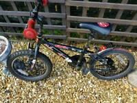 """Boys Urchin 16"""" bike"""
