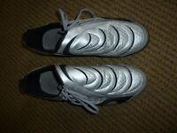 Puma silver training shoes
