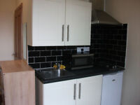 STUDIO FLAT TO LET/ APARTMENT / ALL BILLS INCLUDED BD7 1BA BRADFORD UNIVERSITY/ COLLEGE