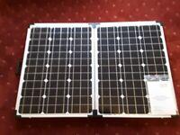 Folding solar charging kit