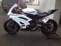 2008 Yamaha R6 race/track bike