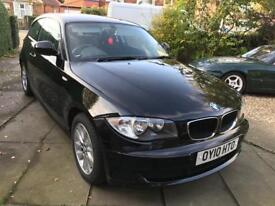 BMW 1 Series 3dr 2.0l Diesel Black Low Mileage
