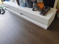 Tv cabinet , wall hung , excellent condition
