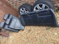 BMW E46 Rear leather seats coupe