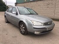 Ford Mondeo 2.0 TDCi Zetec 5dr (DIESEL) (Silver) 2004