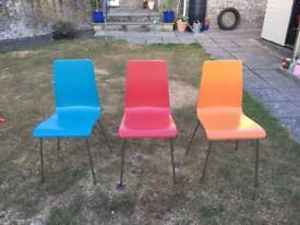 3 John Lewis dining chairs