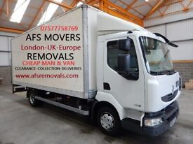 Cheap Urgent Removal Service House Moving Office Furniture Waste Clearance Man & Van Hire UK Europe