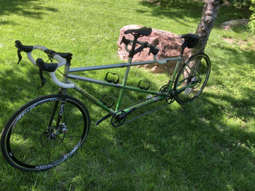 Co-Motion travel tandem bicycle Large/Small with travel cases