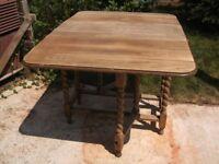 Gate Leg Table, Stripped