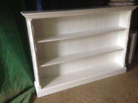 Bookcase Old Pine Vintage Painted