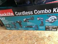 Makita 6 piece kit