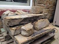 New Reduced Price! *Bargain* Various Yorkshire Stone - Pillars and stone blocks