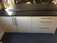 REDUCED! Used high gloss kitchen