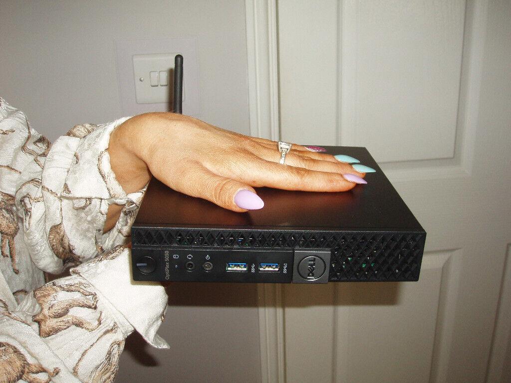 Dell Optiplex 5050 micro pc mini computer 8gb ddr4 7th generation intel i5  | in Whitley Bay, Tyne and Wear | Gumtree