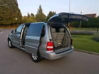 Kia Sedona + top Spec diesel MPV 6 seats Fully loaded 7 years one old lady owner £1599 Zafira touran