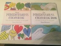 2 Colouring for Mindfulness Books- Brand new