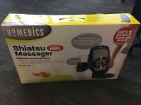 Homedics Shiatsu Massager with heat - back - model SBM-179H-3GB