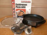 Portable electric pizza oven 24cm in diameter, 220V, 1500W