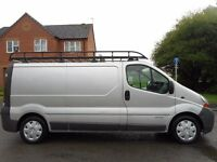 Part Exchange to clear!! Renault Trafic Lwb with Massive rhino roof rack,Full electric pack .