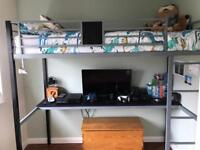 High rise Bed for sale!