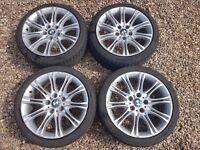 BMW MV2 18 inch M-Sport Alloy wheels