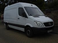 **NO VAT** 2007 Mercedes Sprinter 311 CDI High Roof MWB - 3.5T - NEW SHAPE **NO VAT**