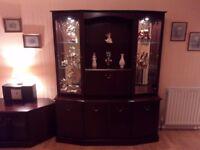 Elegant Hutch Dresser and TV cabinet