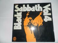 Black Sabbath Vol4 1st Press Swirl Spain.