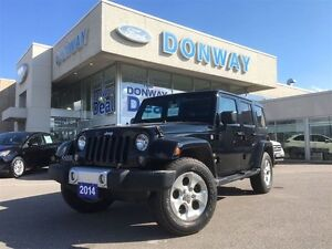2014 Jeep Wrangler Unlimited Sahara | LOW KM | HARD & SOFT TOP|
