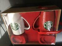 Starbucks Coffee Chocolate Mug Cup set