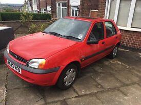 Ford Fiesta 1.3 Petrol **Genuine Low 45,000 mileage**