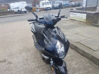 2017 50cc moped