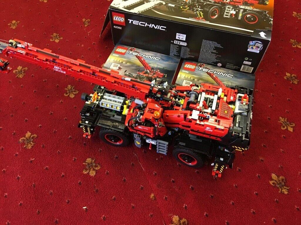 Lego Technic 42082 Rough Terrain Crane In Loughborough