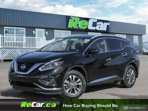 2018 Nissan Murano SL AWD | SAVE $13,192 VS. NEW | HEATED LEA...